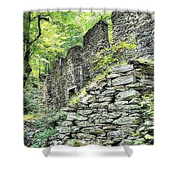 Sope Creek Mill Shower Curtain
