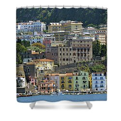 Capri's Marina Piccola Shower Curtain