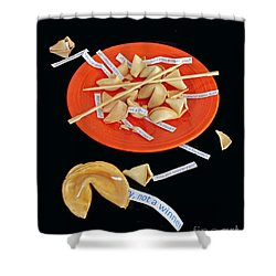 Misfortune Cookies Shower Curtain