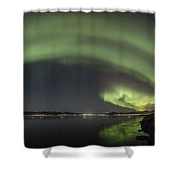 Sortland Strait Shower Curtain