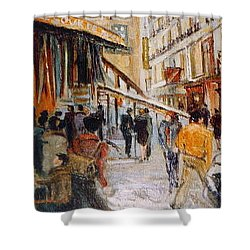 Souk De Buci Shower Curtain