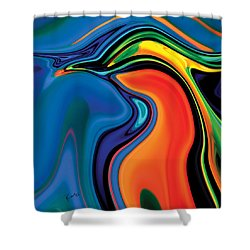 Soul Bird 2 Shower Curtain