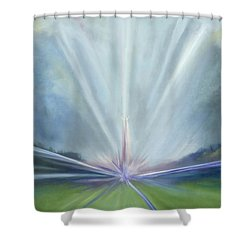Soul Blastoff Shower Curtain