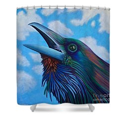 Soul Call Shower Curtain by Brian  Commerford