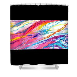 Soul Escaping Shower Curtain by Expressionistart studio Priscilla Batzell