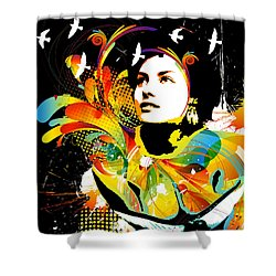Soul Explosion II Shower Curtain