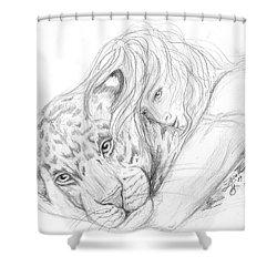 Soul Friends Shower Curtain