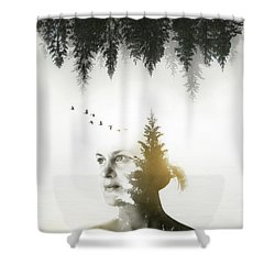 Shower Curtain featuring the photograph Soul Of Nature by Nicklas Gustafsson