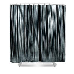 Soul Searching Shower Curtain by Lourry Legarde