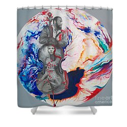 Blaa Kattproduksjoner             Soul Seduction Shower Curtain