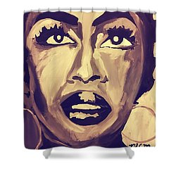Soul Sister  Shower Curtain by Miriam Moran
