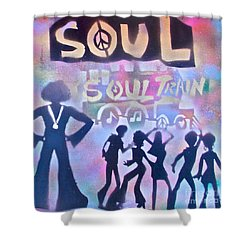 Soul Train 1 Shower Curtain by Tony B Conscious