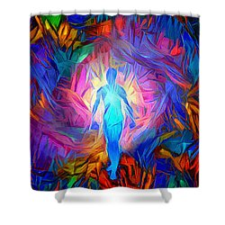 Soul Tunnel Shower Curtain