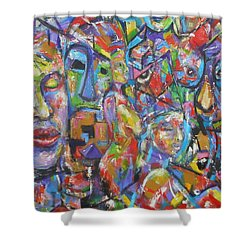 Soulful Elevation Shower Curtain