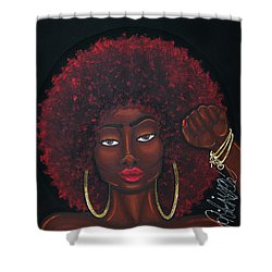 Soul Sista Shower Curtain