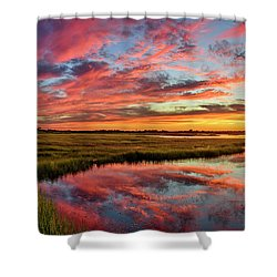 Sound Refections Shower Curtain