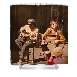 Sounds Of New Orleans Shower Curtain
