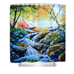 Sounds Of Silence Shower Curtain by Hanne Lore Koehler