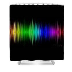 Soundscape 17 Shower Curtain