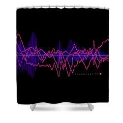 Soundscape 44 Shower Curtain