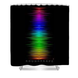 Soundscape 8 Shower Curtain