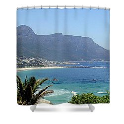 South Africa Coast Shower Curtain