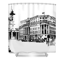 South Africa House Shower Curtain