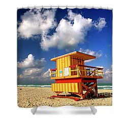 South Beach Shower Curtain