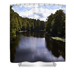 South Bound Shower Curtain