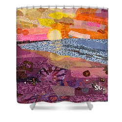 South Carolina Dawn Shower Curtain