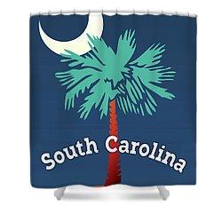 South Carolina Palmetto Shower Curtain