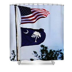 South Carolina Roll Shower Curtain