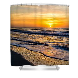 South Carolina Sunrise Shower Curtain by David Smith