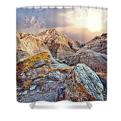 South Dakota 2 Shower Curtain