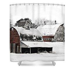 South Dakota Farm Shower Curtain