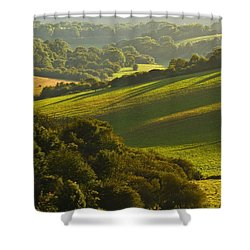 South Downs Shower Curtain
