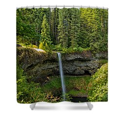 South Falls 0417 Shower Curtain