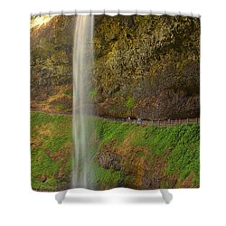 South Falls 0448 Shower Curtain
