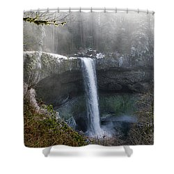 South Falls Shroud Shower Curtain