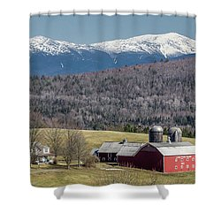 South Kirby Spring Shower Curtain