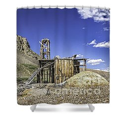 South London Mine Shower Curtain
