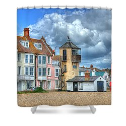 South Lookout Tower Aldeburgh Shower Curtain