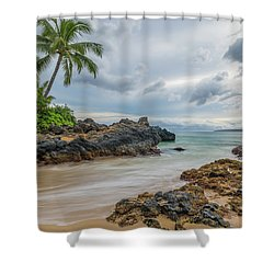 South Maui Secret Beach Shower Curtain