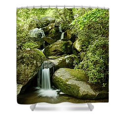 South Mountains Rest Stop Shower Curtain