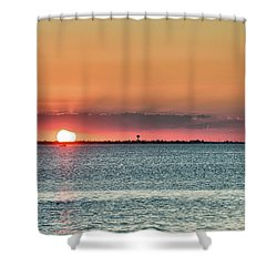 South Padre Island Sunset Shower Curtain