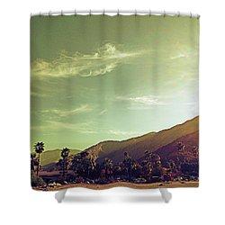 South Palm Springs California Shower Curtain