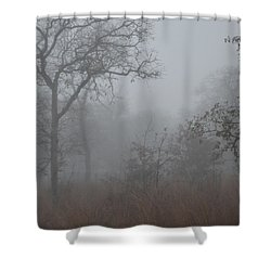 South Texas Fog I Shower Curtain