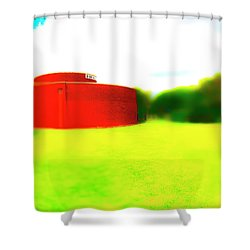 South Walls Shower Curtain by Jan W Faul
