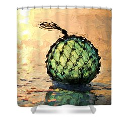 South Walton Zen Shower Curtain