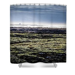 South West Iceland Shower Curtain